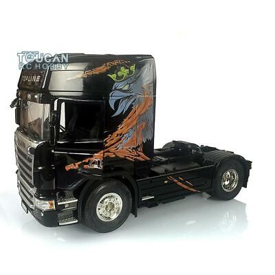 Hercules RC Scania R730 Highline Gripen Painted Motor 1/14 Tractor Truck Model • 599.90£
