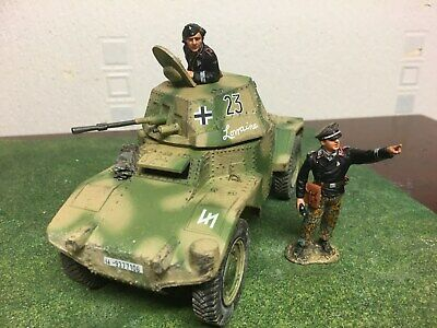 King And Country  German Army Ws125 German Army Summer Panhard Armoured Car • 99.99£