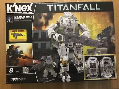 K'Nex Titanfall, Limited Edition, Age 8+, 180 Pieces. • 21£