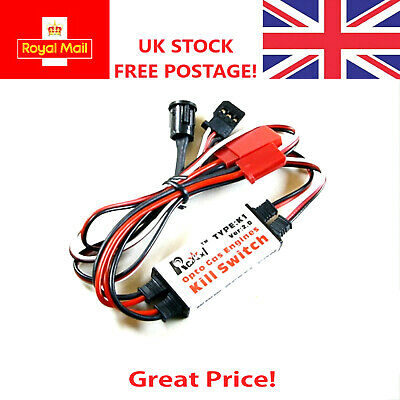 RCEXL Optical Kill Switch RC Gas Petrol Engine UK STOCK FREE DELIVERY DLE DA AGM • 11.99£