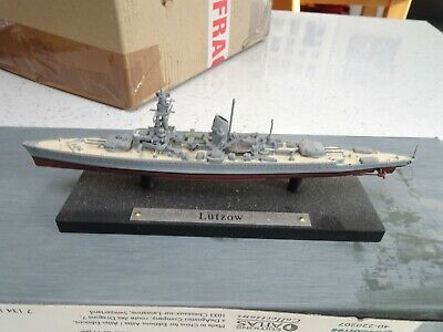 Atlas Editions Warships Lutzow • 3£