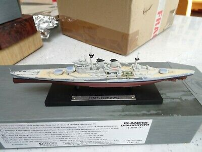 Atlas Editions Warships HMS Renown • 5.80£