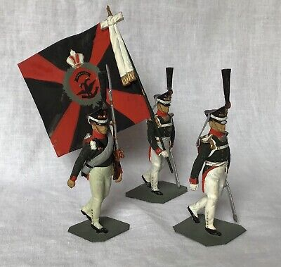 CHARLES STADDEN 54mm. RUSSIAN GRENADIERS. LINE INFANTRY. 1812. STUDIO PAINTWORK. • 14.95£