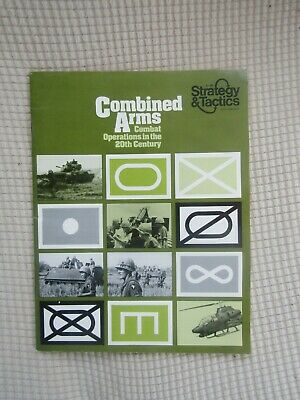 Vintage Strategy & Tactics Magazine No 46 Combined Arms With Game • 8.75£