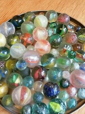 Vintage Glass Marbles • 4.99£