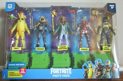Fortnite 4 Inch 5 Figure Party Pack • 29.99£