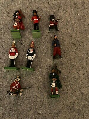 Model Soldiers Metal Lead Job Lot Britains Scotch Guards Pipers Some Old  • 3.99£