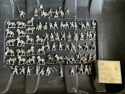 Job Lot Of Various Vintage Hinchcliffe Lead Soldiers • 14£