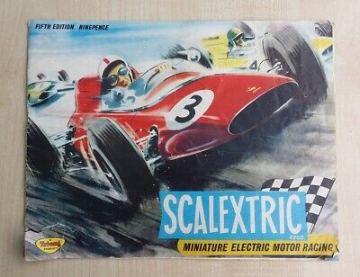 Scalextric Catalogue 5th (1964) Edition, With Price List • 9.99£