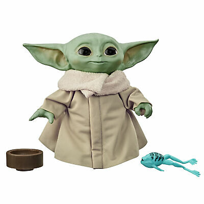 Star Wars The Child Talking Plush Toy With Character Sounds, The Mandalorian Toy • 24.99£