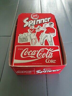 Vintage Coca Cola Gold YoYo Russell Spinner Empty Box Only 1980's 100% Genuine • 30£