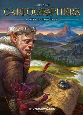 Cartographers Card Game: A Roll Player Tale • 21.94£