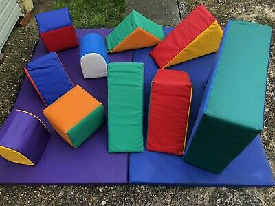 Commercial Soft Play Set 10 Items (Extra Large) • 225£