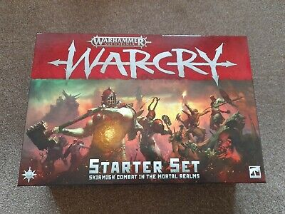Age Of Sigmar Warcry Starter Set (no Warbands Or Chaos Beasts) • 50£