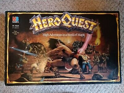 Heroquest Board Game By MB, With 3 Expansion Sets • 62£