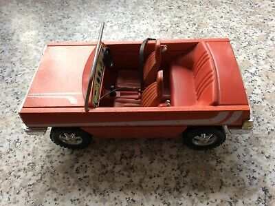 Lundby Dolls House Convertible Car, Early 1980's In Red • 8£