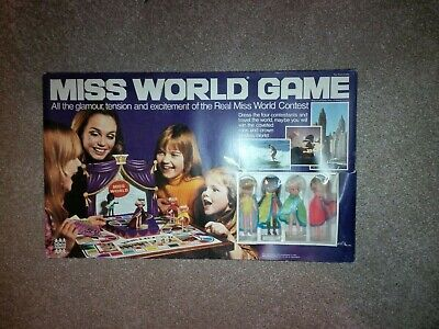 Vintage Denys Fisher Toy - Miss World Game • 2.20£