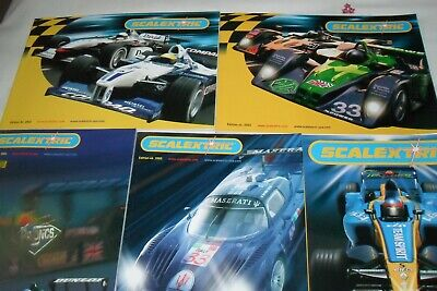 Scalextric Catalogues • 3.60£
