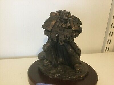 Games Workshop.Limited Statue Given To Staff For 10 Year Service. Warhammer 40k • 150£