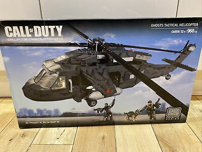 Mega Bloks Call Of Duty Ghost Tactical Helicopter • 70£
