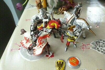 Papo Collection Medieval Knights & Horses Figures X 8 • 4.99£