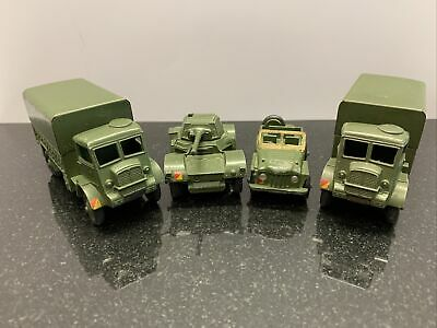 Vintage Dinky Toys Armoured Covered Wagon X2 623 Plus Jeep And Tank  • 7.50£