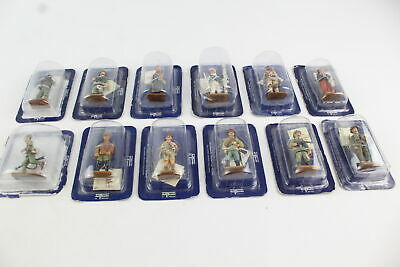 12 X Assorted DEL PRADO Collection Lead Figures Inc. Germany, France, UK, Etc • 0.99£