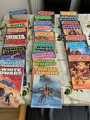 Rare Early WHITE DWARF Magazine Issues 49-78 TSR  D&D • 40£