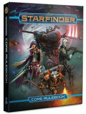 Starfinder RPG Core Rulebook Pocket Edition Roleplaying Game Paizo Publishing • 17.99£