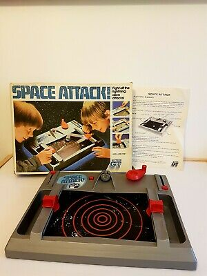 Space Attack Game 1983 By Action GT Working Toy Vintage Retro Fun • 16£