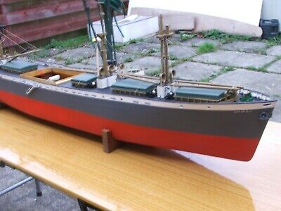 City Of Ely- 1/96 Scale Merchant Liberty Ship-  Rtr- Completed/ Built • 550£