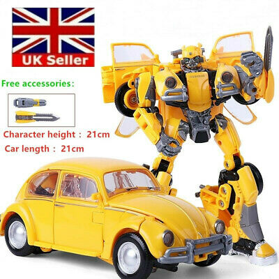 21cm Tall Transformers Toys Bumblebee Action Figure Human Vehicle Alliance Gifts • 17.80£