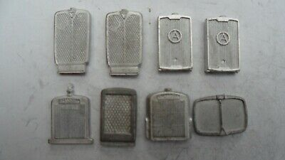 8 X Bus And Lorry Radiators. Suit Fair Generators. 1/48 1/50th Scale Whitemetal. • 6.50£