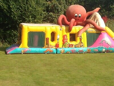 Large Bouncy Castle With Blowers Around 40ft/50ft • 400£