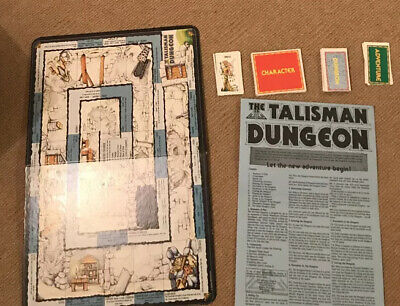 TALISMAN THE DUNGEON RARE EXPANSION SET - Compatible With 2nd Edition - NO BOX • 27.99£