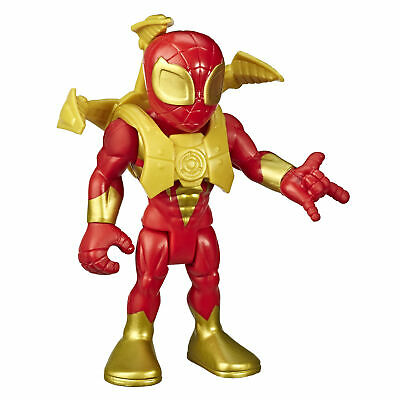 Marvel Super Hero Adventures Toys, 12cm Iron Spider Action Figure & Spider-Arms • 4.99£