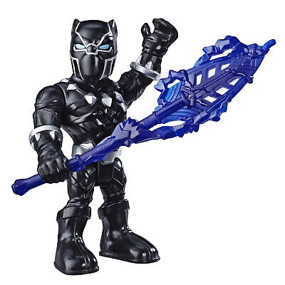 Marvel Super Hero Adventures Toys, 12cm Black Panther Action Figure & Accessory • 4.99£