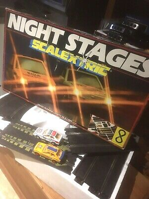 Scalextric Set Night Stages C.850 Ford Xr3i • 25£