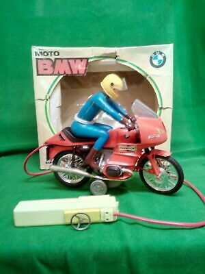 1960s Vintage Toy BMW R 100 RS BATTERY OPERATED Motorcycle BY CLIM  BARVAL SPAIN • 0.99£