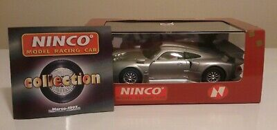 NINCO  50148 PORSCHE 911 GT1  SILVER ROAD CAR SCALEXTRIC COMPATIBLE *New* • 0.99£
