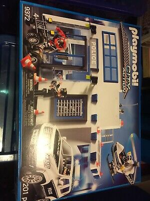 Playmobil 9372 City Action Police Station Bundle. New. Sealed.  • 59.99£