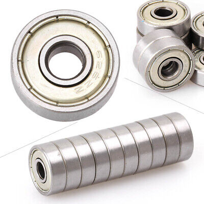 10x Ball Bearings Deep Groove Ball 626-ZZ 6mm Industry Bearing For Linear Motion • 5.28£