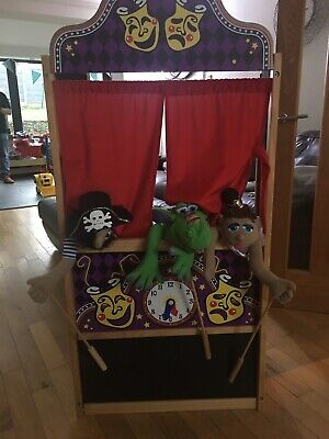 Melissa And Doug Puppet Theatre And Puppets • 40£