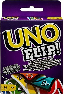 UNO Flip Card Game Family Children Party Fun Table Game • 4.89£