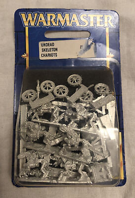 Undead Skeleton Chariots - Warmaster Warhammer - Blister Pack (738222) • 22.99£