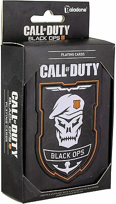 Black Ops Call Of Duty Playing Cards Poker Full Deck & Metal Collectors Tin • 6.85£