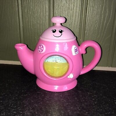 Children's Pink Musical Talking Tea Time Play Teapot By Smyths Toys • 9.95£