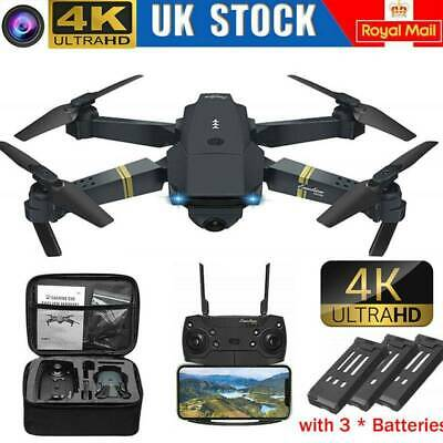 Drone X Pro WIFI FPV 4K HD Camera Foldable RC Selfie Quadcopter Wide Angle Gift • 29.71£