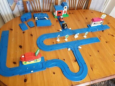 Vintage TOMY Fun Run World Play Set / With Cars & Track • 19.99£