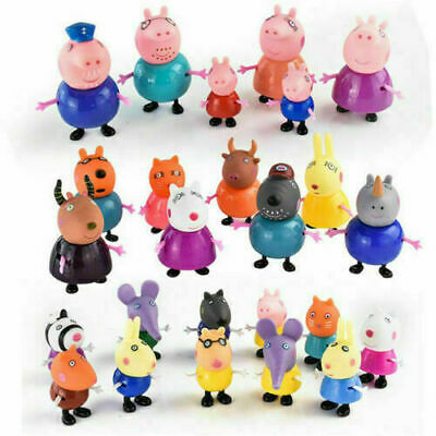 Peppa Pig Family Friends Emily Rebecca Suzy Action Figures Toys Birthday Gift UK • 9.99£